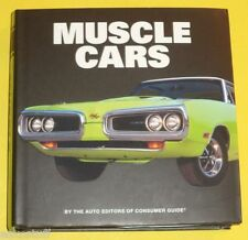 Muscle Cars 2014 NEW Small Size Book Consumer Guide Great Pictures See!