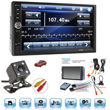 "2 Din 7"" Touch Screen Bluetooth Radio Audio Stereo Video Player&HD Camera Handy"