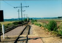 2009 Tram Towards Colyford Seaton Line  Photographs notes verso    Qi.988