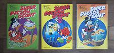 Lot de 3 SUPER PICSOU GÉANT - Numéros 111 bis 117 bis 129 bis - 1981 / 1982