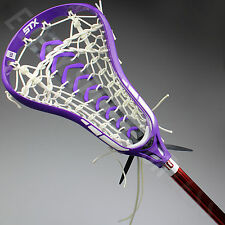 STX Exult 500 SMU Complete Women's Lacrosse Stick- Purple/White (NEW) List@ $190