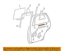TOYOTA OEM Glass-Rear Door-Lift Channel Filler 699750R020