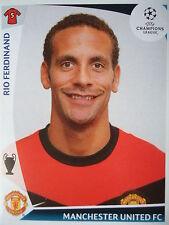 Panini 77 Rio Ferdinand Manchester United UEFA CL 2009/10