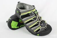 Keen Boys Newport H2 Waterproof Sandals Big Kids Size 5 Gray 1014266