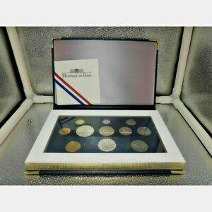 Coffret BE monnaie de Paris 1998 - 11 pcs