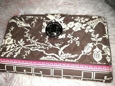 Vera Bradley Imperial Toile Turn Lock Wallet *Pretty*
