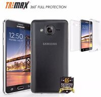 For Galaxy On5 G550 Full Body Front Back 360 Wrap Screen Protector Cover Case