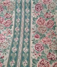 6 Mts English Country Roses Floral  Curtain & Upholstery Fabric    Shabby Chic