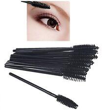 50 PCS Disposable Eyelash Brush Mascara Wands Applicator Makeup Spoolers