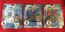 The Muppets Koozebane Kermit Nocturna Red Glow In Dark Palisades Figure Lot NEW