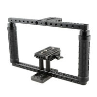 CAMVATE Universal Camera Cage Handgrip for Canon Nikon Sony with Battery Grip