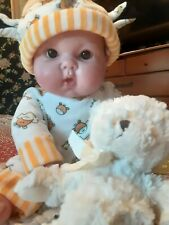 Vintage Berenguer Reborn Rooted Eyelashes Outfit