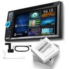 Clarion nx505e 2-din DAB Radio Bluetooth Navi per AUDI TT pienamente attivo BOSE Nero