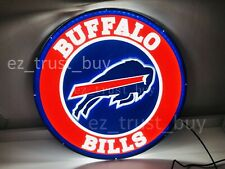 "New Buffalo Bills Led 3D Neon Sign 17"" Bar Lamp Decor Poster"