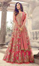 Schwerer Anzug Salwar Kameez Indisches Designer Bollywood Kleid Anarkali Pakista