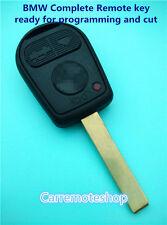BMW 3 Button series 3 5 7 Z3 E46 E39 E36 E38 M3 X3 X5 Z4 E46 complete Remote Key