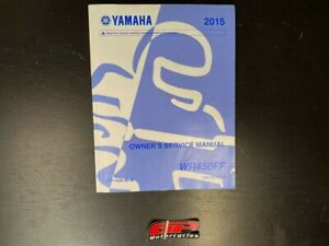 Yamaha WR450F 2015 Owner's Service Manual