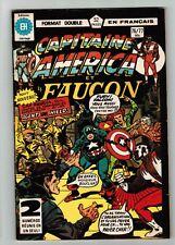 FRENCH COMIC FRANÇAIS EDITION CAPITAINE AMERICA   #  76 / 77  SP-18AV