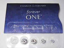 FOREVER ONE DEF 5mm (.50ct) Loose Round Moissanite by Charles and Colvard