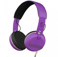 SkullCandy Grind Ill Famed/Purple/Black Premium On-Ear Headphones TapTech Remote