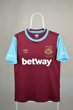 Umbro West Ham Home Jersey 2015-2016 Shirt Hammers SIZE S SMALL (adults)