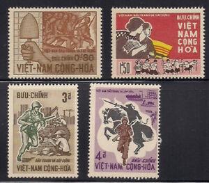 Vietnam-S.   1966   Sc # 294-97   VLH   OG   (1-077)