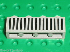 LEGO espace space OldGray Brick with grille ref 3010p04 / Set 6950 1968 722 ...