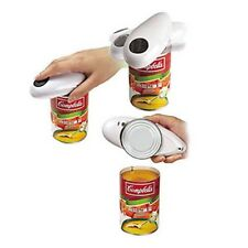 BRAND NEW ONE TOUCH INSTANT AUTOMATIC HANDS FREE EASY CAN JAR TIN OPENER