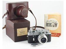 ZORKI 2c 2 c CAMERA Industar 50 RED P П F/3.5 50 mm IN BOX + MANUAL EXC