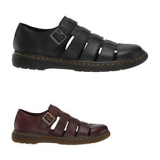 Dr.Martens Fenton Leather Closed-Toe Fisherman Mens Shoes