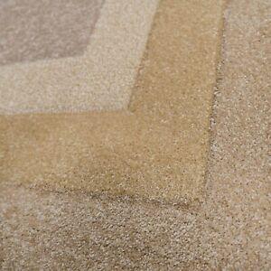 Large Beige Rugs Natural Latte Hand Carved Living Room Rug Carpet Runner Rug New