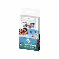20x HP ZINK Sticky Backed Photo Paper For Sprocket Photo Printers 2 x 3""