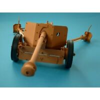 7.5 cm Pak 40 anti-tank gun  1/16 scale model kit  (prepainted+lasercut details)