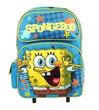 "Spongebob Squarepant Large Rolling Backpack 16"""