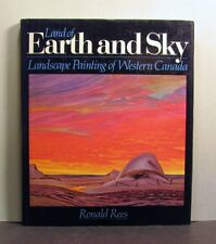 Earth and Sky, Landscape Painting of  Western Canada, Canadian Art Artists