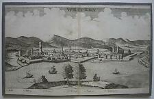 Ungarn Vac Insel Szentendre Osmanische Besatzung Orig. Kupferstich 1700