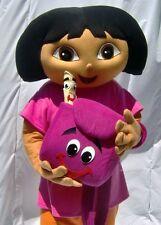 Explorer Dora Mascot Costume Adult Size Foam Head Quality Top Same As Pic GIft