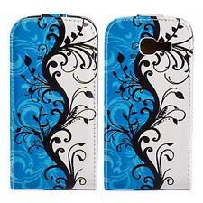 Handy Tasche Flip Case Schutz Hülle Samsung S7390 Galaxy Trend Lite Butterfly