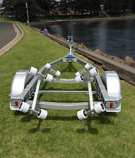 SeaTrail PWC13AR, Aluminium Trailer, suits Inflatable/Fibreglass Boats upto 3.7m