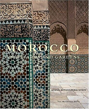 MOROCCO COURTYARDS and GARDENS, by Achva Stein   FREE SHIP to OZ   9781580931946