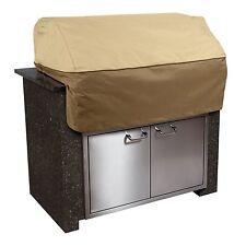 Classic Accessories Veranda Patio Built in BBQ Grill Top Cover, X-Small, Pebble
