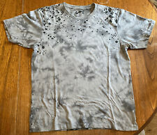 V. Rare Futura UT Abstract Expressionist Uniqlo UNKLE Mo Wax Grey T-Shirt MEDIUM