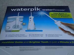 Waterpik Ultra Plus Water Flosser & Cordless Plus Water Flosser WP-150UK/WP-470