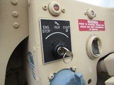 MILITARY HUMMER TRUCK PLUG & PLAY KEYED BLACK IGNITION SWITCH HUMVEE M998 M1097
