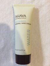 Ahava Dead Sea Water Mineral Hand Cream .68 oz New