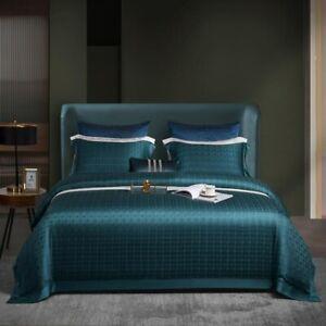 Vintage Duvet Cover Set 4Pcs Bedding Set Bed Sheet 2 Pillowcases