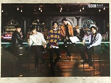 BAP NOIR 2nd Full Album - Official Poster with Hard Tube Case