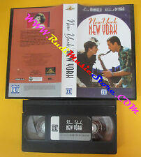 VHS film NEW YORK NEW YORK Liza Minnelli Robert De Niro 2000 MGM (F132) no dvd