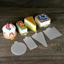 1 x 14 pulgadas pulgadas ronda Plata 3mm Pastel De Bodas Cumpleaños Envío Reino Unido
