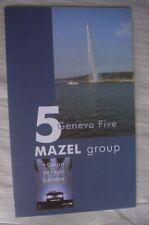 Mazel Group 2004 (u.a. HS 21, HS K8, HS 21 GTS, Lancia G. Stilnovo) Prospekt, GB